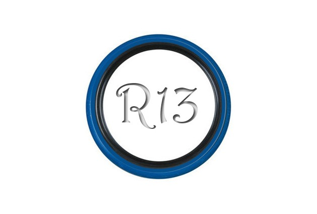 Флиппер Twin Color black-blue R13 (1 шт.)