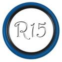 Флиппер Twin Color black-blue R15 (1 шт.)