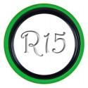 Флиппер Twin Color black-green R15 (1 шт.)