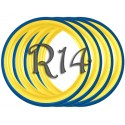 Флипперы UKRAINE R14 (4 шт.)
