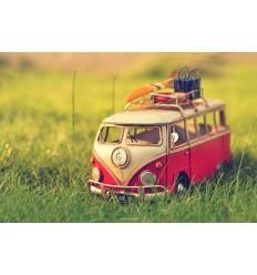 Volkswagen T1 красный