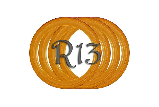 Флиппер One Color orange R13 (1шт.)
