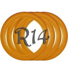 Флипперы Color orange R14 (4 шт.)