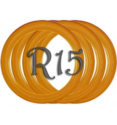 Флипперы Color orange R15 (4 шт.)