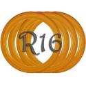 Флипперы Color orange R16 (4 шт.)