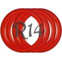 Флипперы Color red R14 (4 шт.)