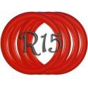 Флипперы Color red R15 (4 шт.)