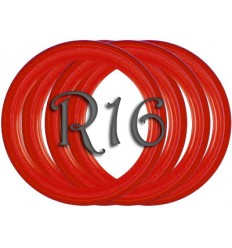 Флипперы Color red R16 (4 шт.)