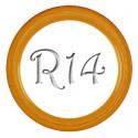 Флиппер Color orange R14 (1шт.)