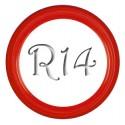 Флиппер Color red R14 (1 шт.)