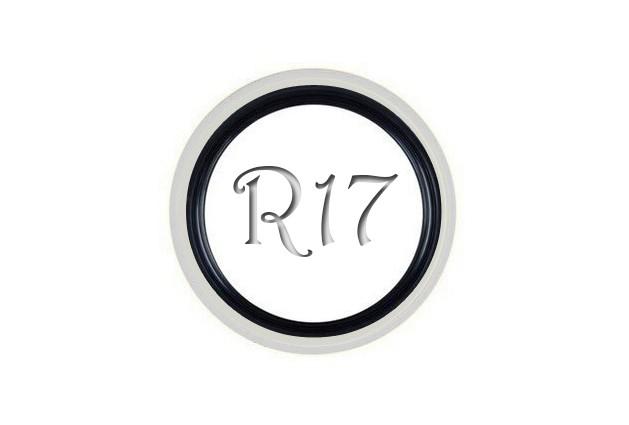 Флиппер Twin Color black-white R17 (1 шт.)
