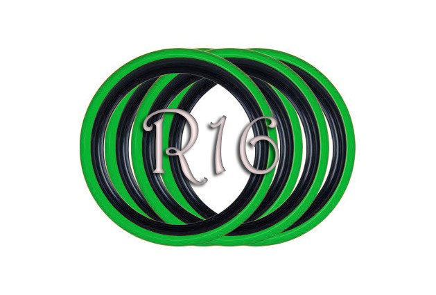 Флипперы Twin Color black-green R13 (4 шт.)