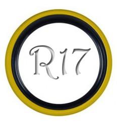 Флипперы Twin Color black-yellow R16 (4 шт.)