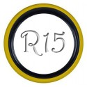 Флиппер Twin Color black-yellow R15 (1 шт.)