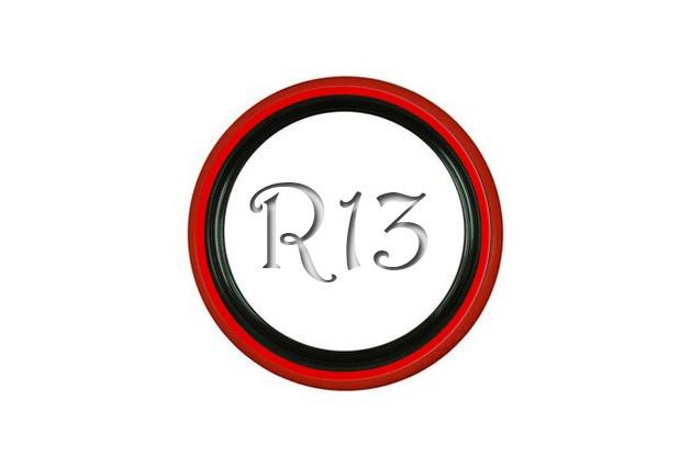 Флипперы Twin Color black-red R13 (4 шт.)